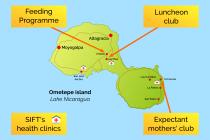 Ometepe map