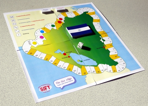 On the edge board game
