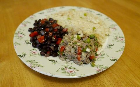 A taste of Nicaragua meal