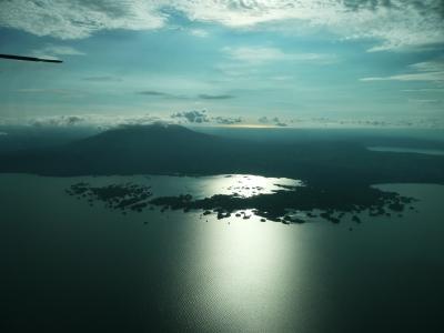 The Asese peninsula in Lake Nicaragua