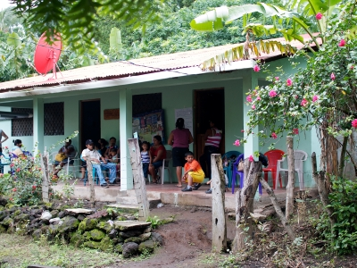SIFT's health clinic in the village of Las Pilas