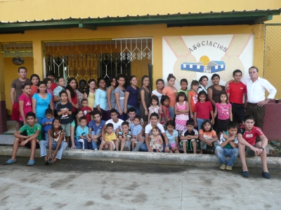 All of the children living at the Orphanage