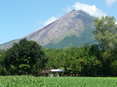 Concepcion volcano on Ometepe island