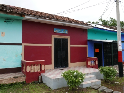 The outside of Casa Rahab