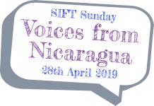 SIFT Sunday Voices from Nicaragua