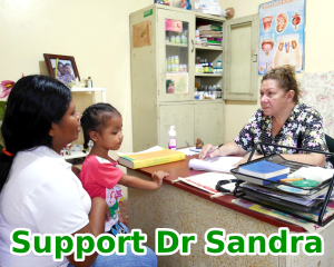 Support Dr Sandra gift